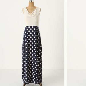 Anthropologie Moulinette Seours Great Dot Maxi